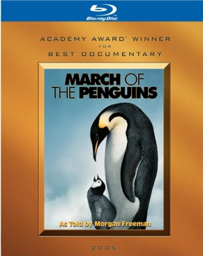 March of the Penguins - Blu-ray cover