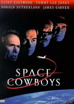 Clint Eastwood: Space Cowboys - DVD cover