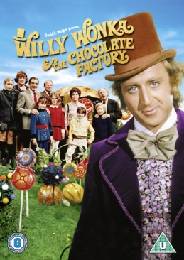 Willy Wonka & the Chocolate Factory - Blu-ray cover