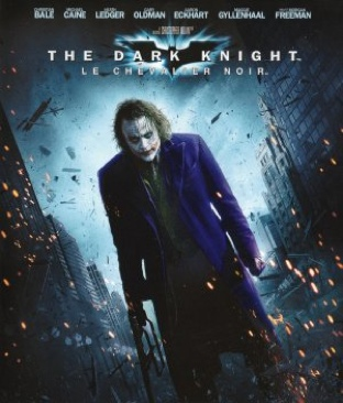 Batman: The Dark Knight - Blu-ray cover