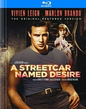 A Streetcar Named Desire - Blu-ray cover