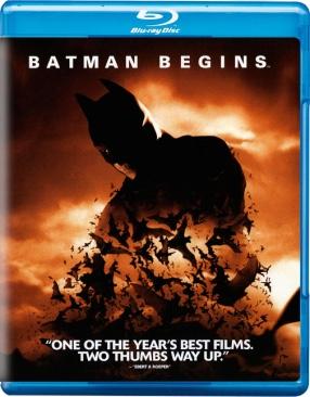 Batman (Nolan 1): Batman Begins - Blu-ray cover