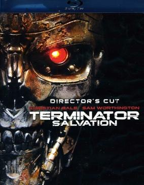 Terminator Salvation - Blu-ray cover