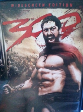 Three Hundred 300 - DVD cover