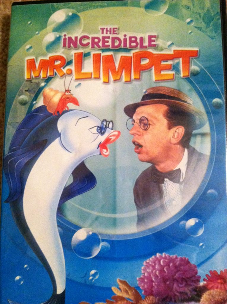 The incredible mr limpet 1963 883929418138 for Don knotts fish movie