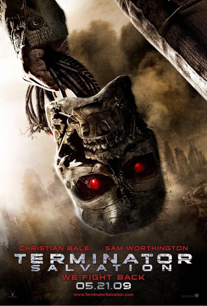 Terminator 4: Salvation -  cover
