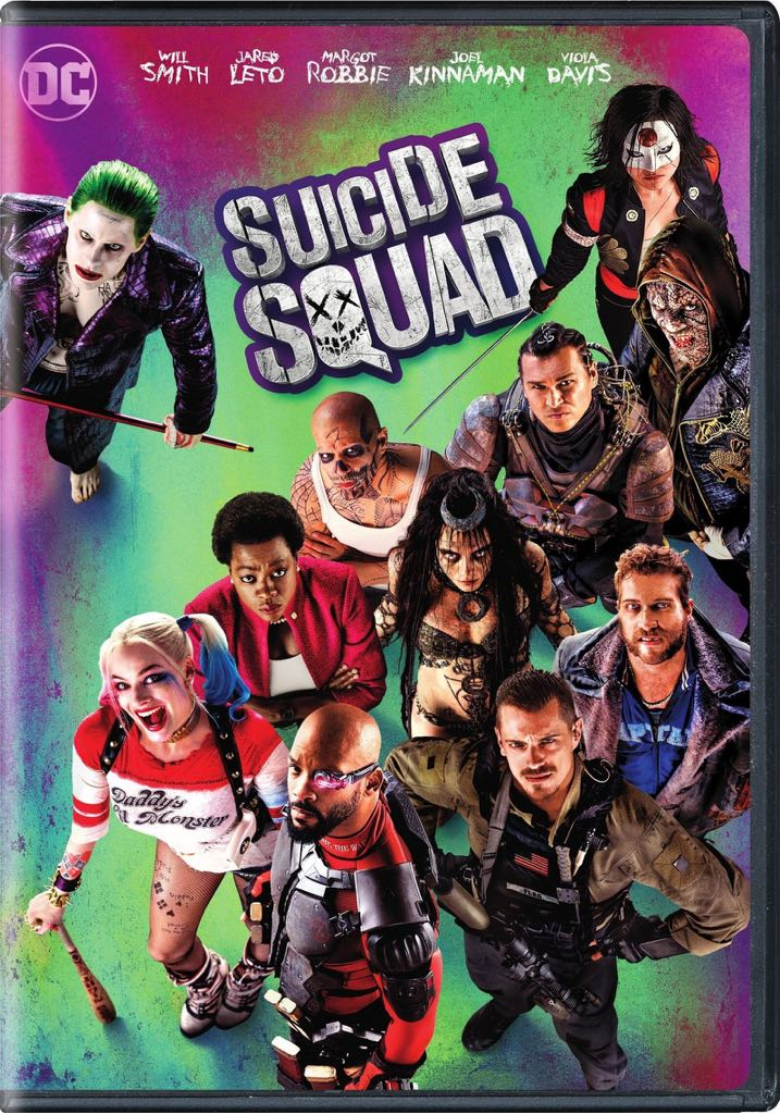 Suicide Squad - DVD cover