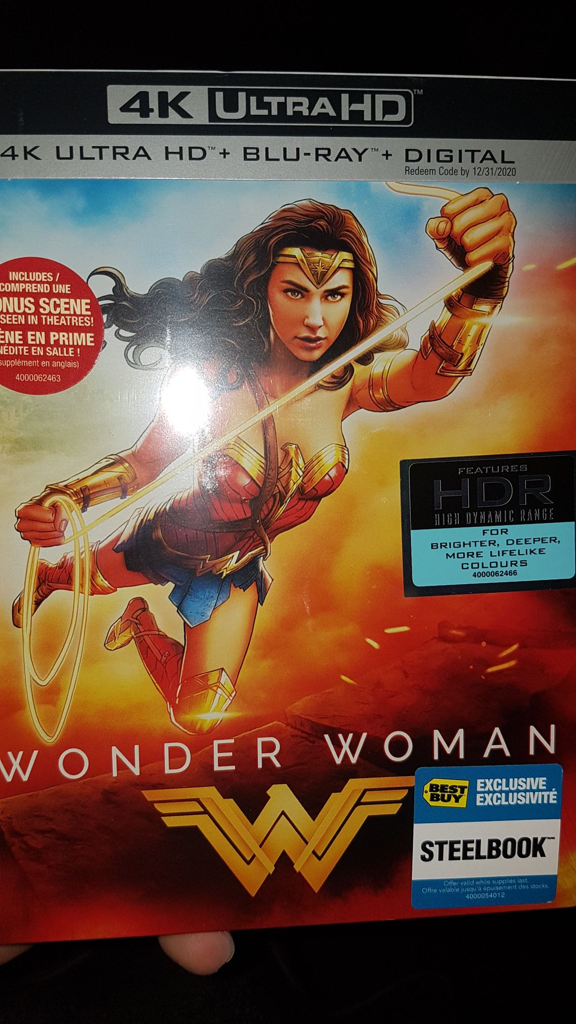 Wonder Woman Steelbook 2017 883929605200