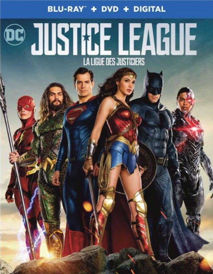 DC 4 Justice League (BR) - Blu-ray cover