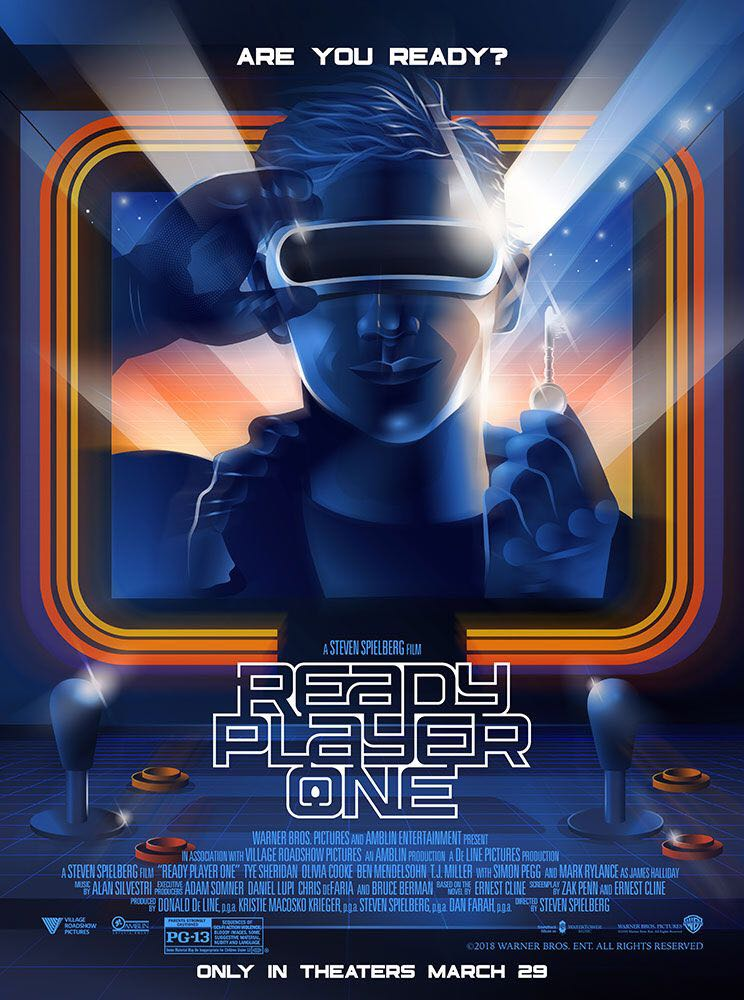 Ready Player One - Blu-ray cover