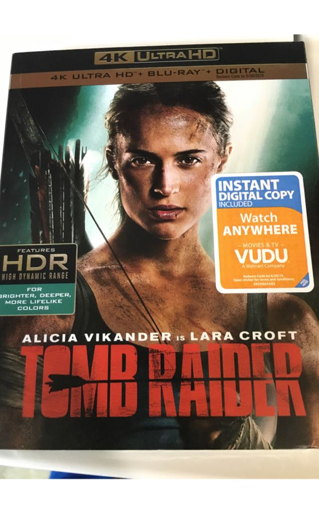 Tomb Raider.  G6 -  cover