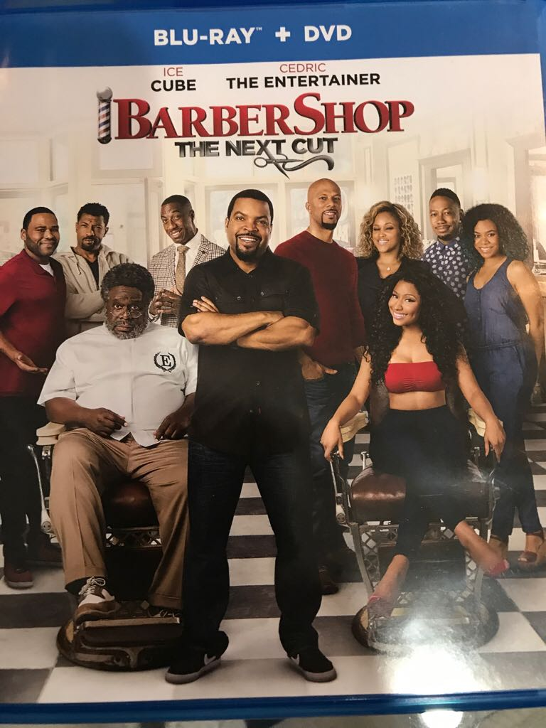 Barber Shop: The Next Cut -  cover