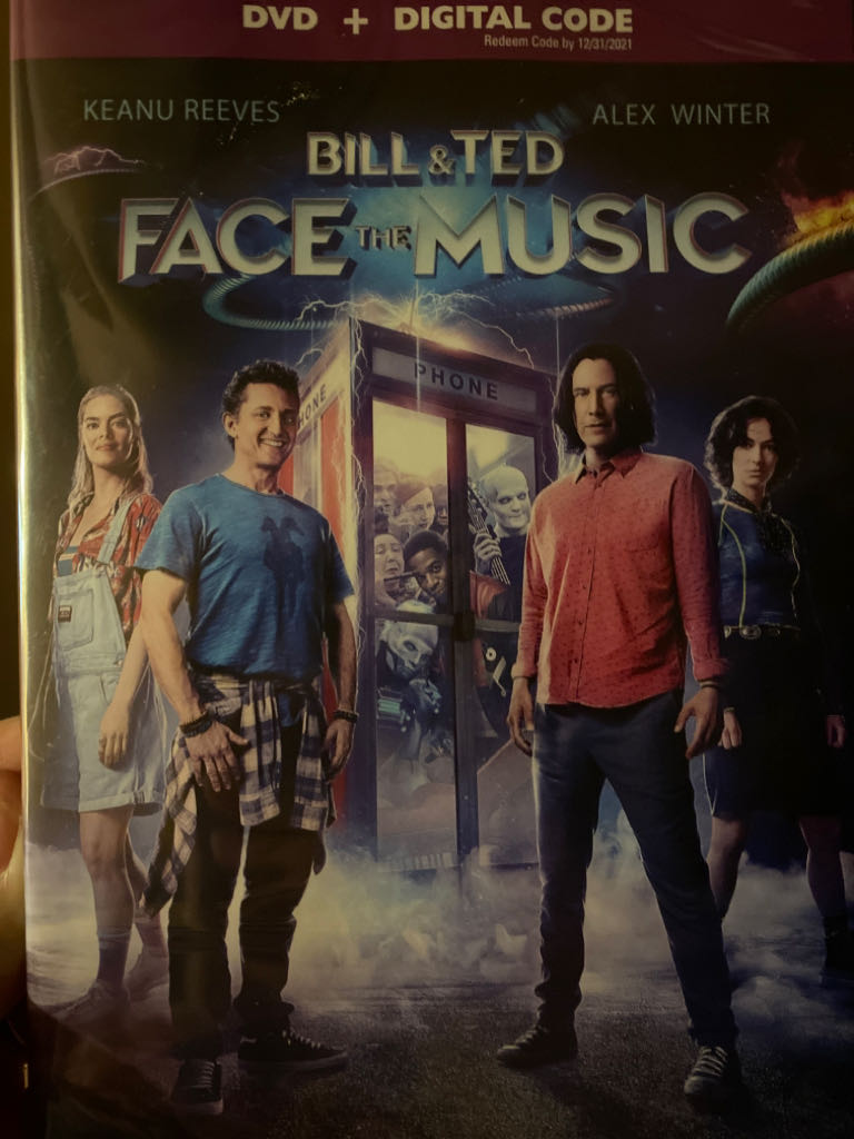 Bill & Ted Face The Music -  cover
