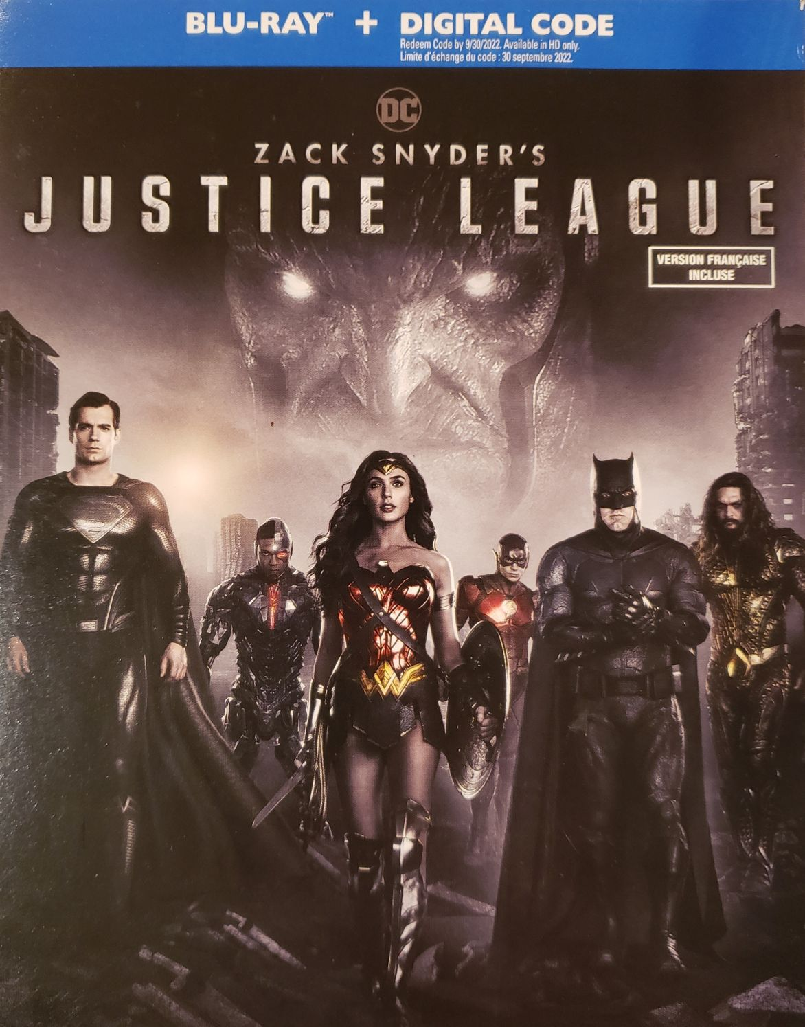 Zack Snyder's Justice League -  cover