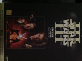 Star Wars III: Revenge of the Sith - DVD cover