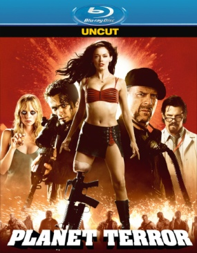 Planet Terror - Blu-ray cover