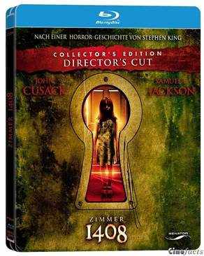 Zimmer 1408 Director's Cut - Blu-ray cover