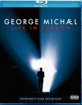 George Michael: Live In London - Blu-ray cover