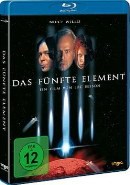 The Fifth Element - Blu-ray cover