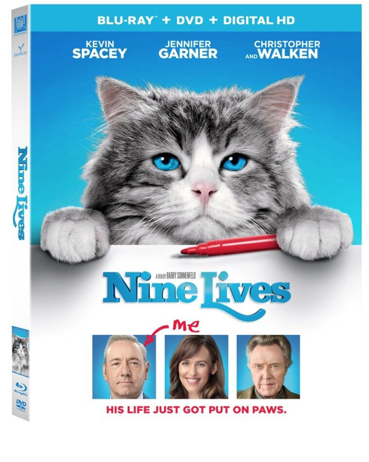 Nine Lives - Blu-ray cover