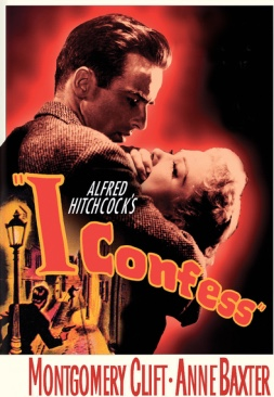 I Confess - Blu-ray cover