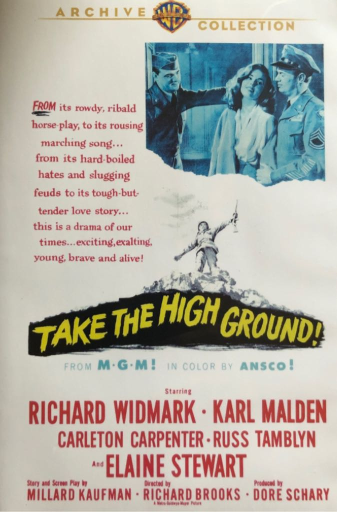 Take The High Ground -  cover