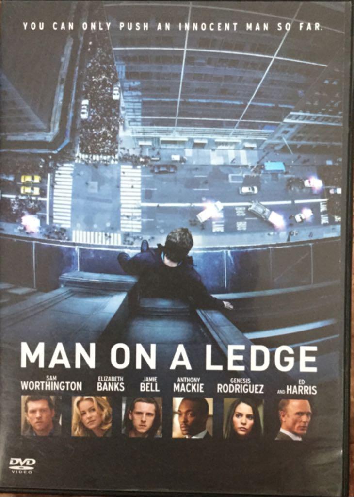 Man On A Ledge -  cover