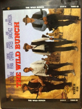 The Wild Bunch - Video CD cover