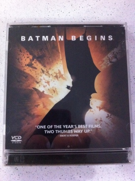 Batman Begins - Video CD cover