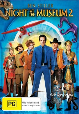 Night at the Museum: Battle of the Smithsonian - DVD cover