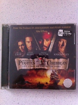 Pirates of the Caribbean: The Curse of the Black Pearl - Video CD cover