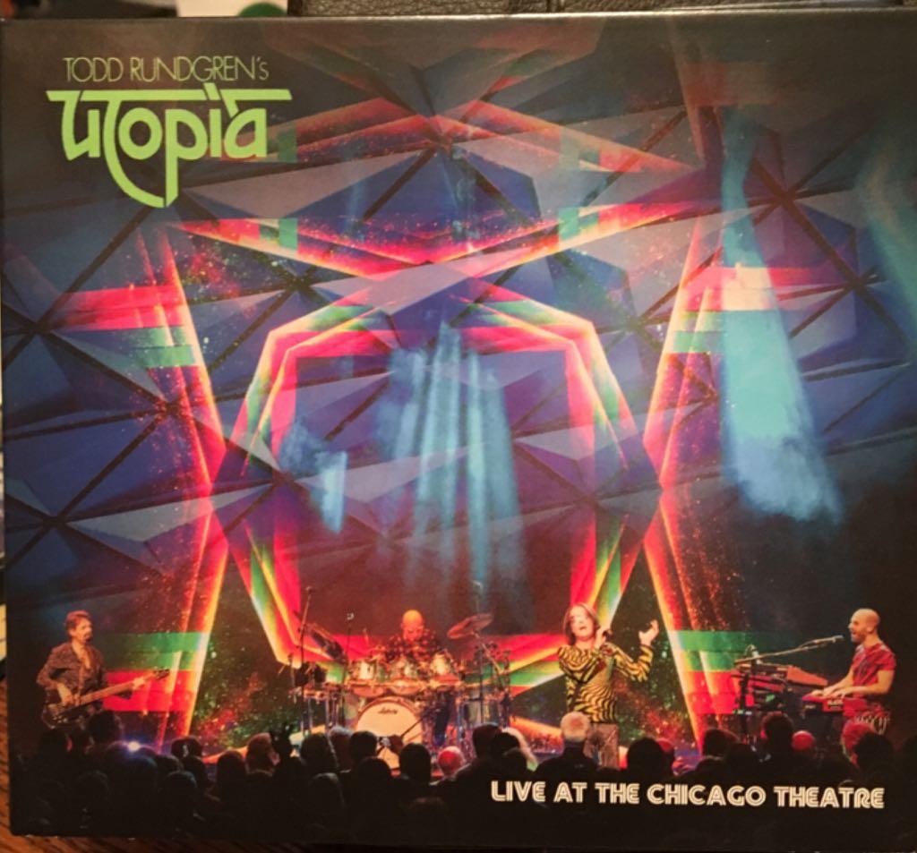 Todd Rundgren's Utopia: Live At The Chicago Theatre  -  cover