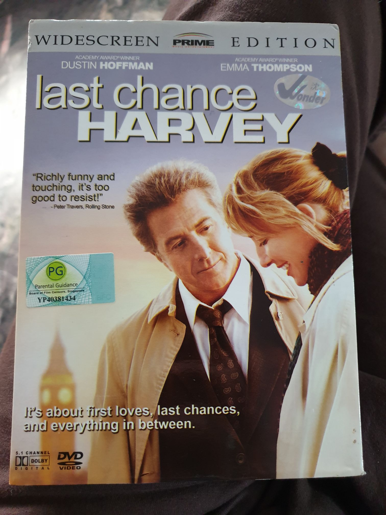 Last Chance Harvey -  cover