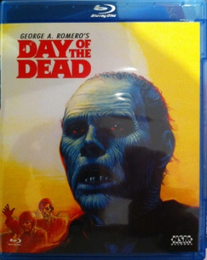 Day of the Dead - Blu-ray cover