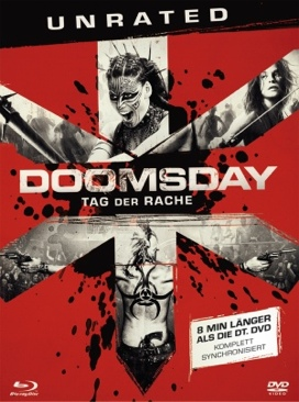 Doomsday - Blu-ray cover