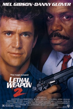 Lethal Weapon 2 - Laser Disc cover