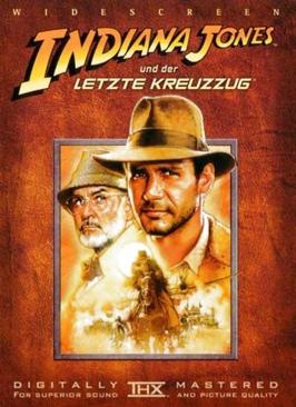 Indiana Jones 3: The Last Crusade - Blu-ray cover