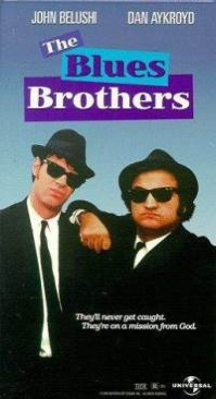 The Blues Brothers - VHS cover