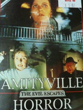 The Amityville Horror 4: The Evil Escapes - DVD cover