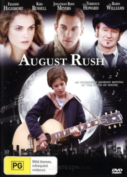 August Rush - DVD cover