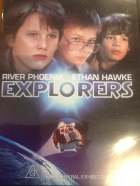 Explorers - DVD cover