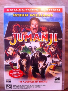 Jumanji - DVD cover