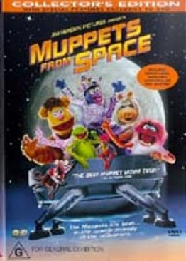 Muppets from Space - DVD cover