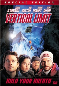 Vertical Limit - DVD cover