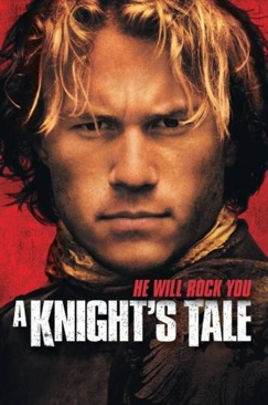 A Knight's Tale - VHS cover
