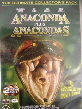 Anaconda Plus Anacondas: The Hunt For The Blood Orchid - DVD cover