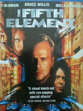 The Fifth Element - UMD cover