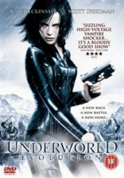 Underworld: Evolution - DVD cover