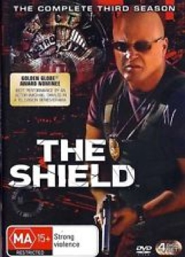 The Shield - DVD cover