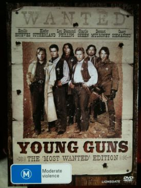Young Guns - Laser Disc cover